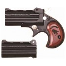 CIMARRON DERRINGER DUAL .38SPL & .32HRM FS BLUED WOOD
